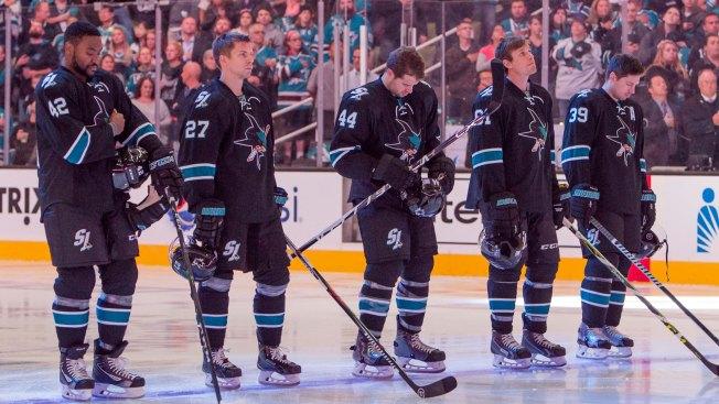 Sharks F Ward won't kneel during anthem