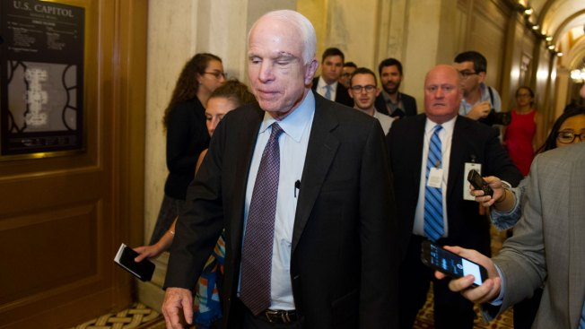 Senator Claims McCain's Tumor Could Have Factored Into Obamacare Repeal Vote