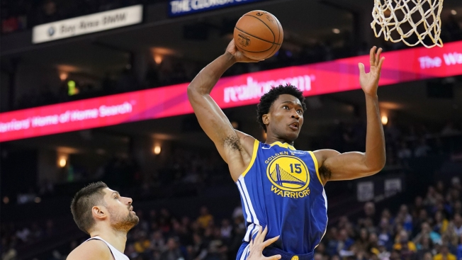 NBA Rumors: Warriors Trade Damian Jones to Hawks for Omari Spellman