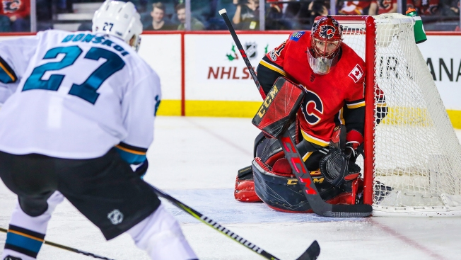 Sharks Open Road Trip With Win Thanks to Donskoi's Late Heroics