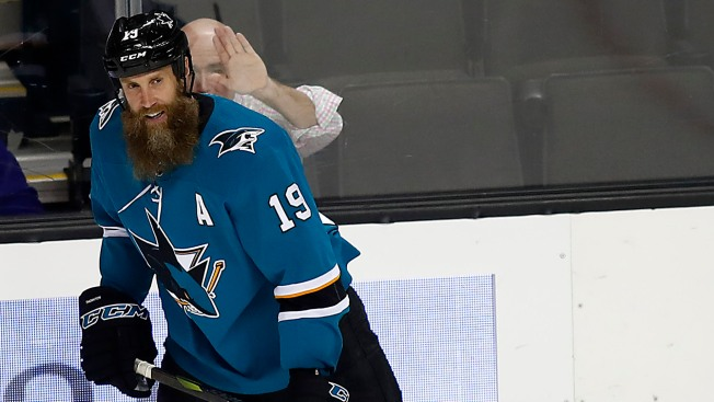 Not Again: Sharks Holding Their Breath at Sight of Another Thornton Knee Injury