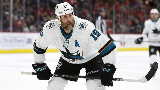 Sharks' Joe Thornton Suspended for Game 4 vs. Vegas