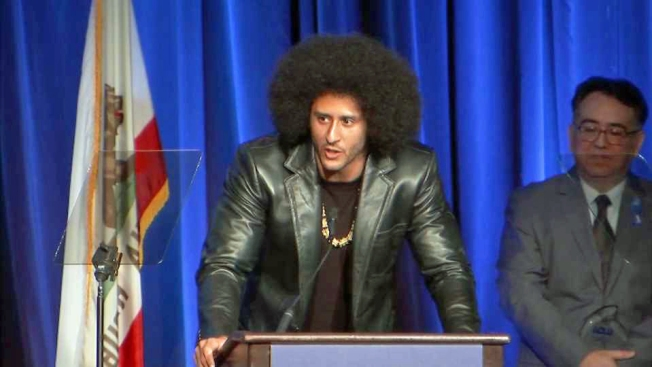 Colin Kaepernick delivers rare speech: 'We must confront systemic oppression'