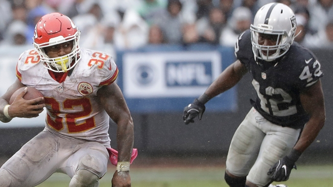 CSN Bay Area staff Injury report Joseph out Latham questionable for Raiders vs Chiefs