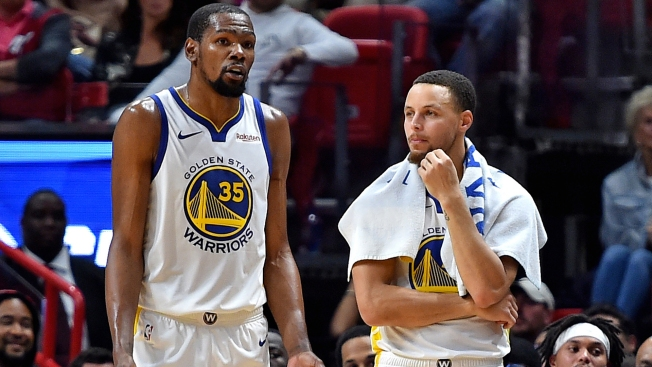 Steph Curry Comments on Being on Plane During Kevin Durant's Decision