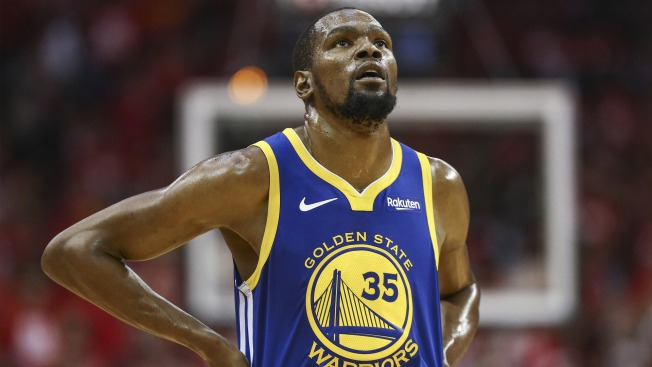 Kevin Durant Will Feel Love, Appreciation of Warriors Fans Eventually