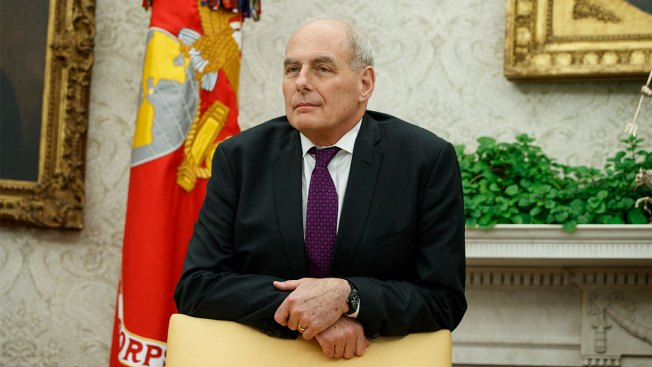 John Kelly Differs With Trump on Immigration, Mum on Security Clearances