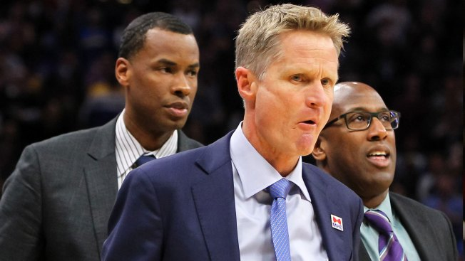 Warriors' Kerr Fined $25K for Outburst at Referees