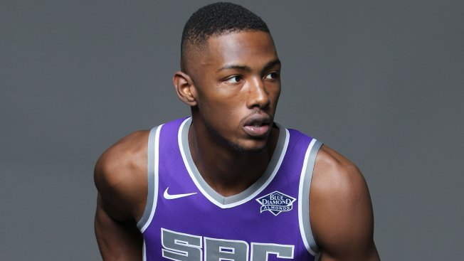 Kings rookie F Giles (knee) out until at least January