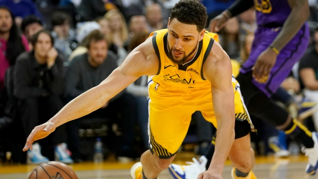 3a7f8b1df047 Warriors  Klay Thompson a Game-time Decision Vs. Lakers