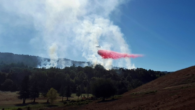 Model Rocket Sparks Brush Fire Behind Marin County School