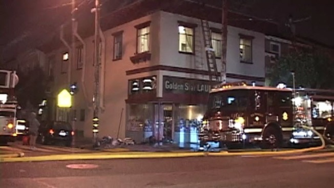 SF Laundromat, Clothes Go Up in Flames