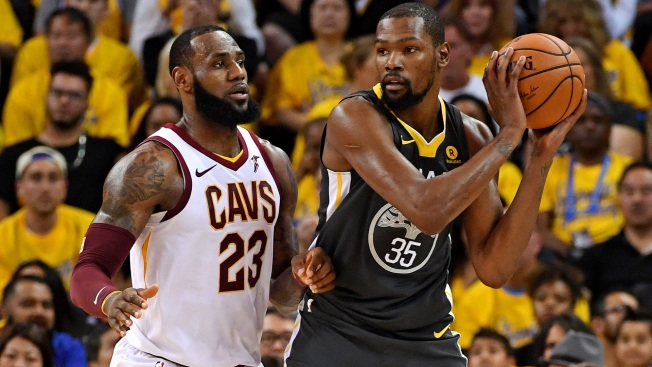 Listen to Kevin Durant and LeBron James' Song 'It Ain't Easy'