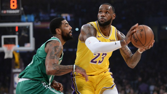 4bed0649bce2 NBA Rumors  Kyrie Irving Has Discussed Joining LeBron James