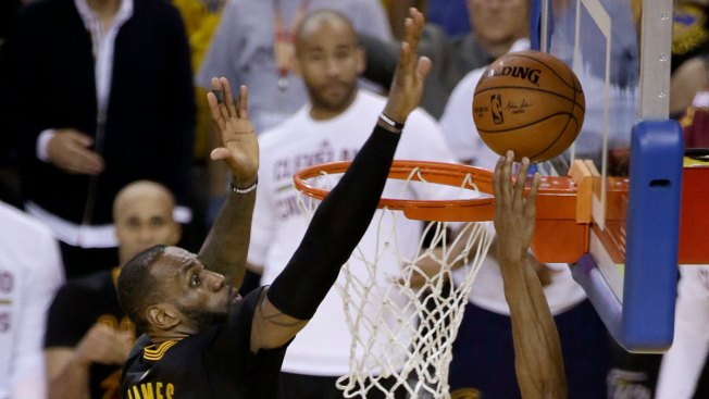 LeBron's Block in The Finals Is the Play of 2016