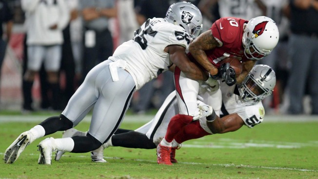 Raiders' Marshawn Lynch ejected for contact with official