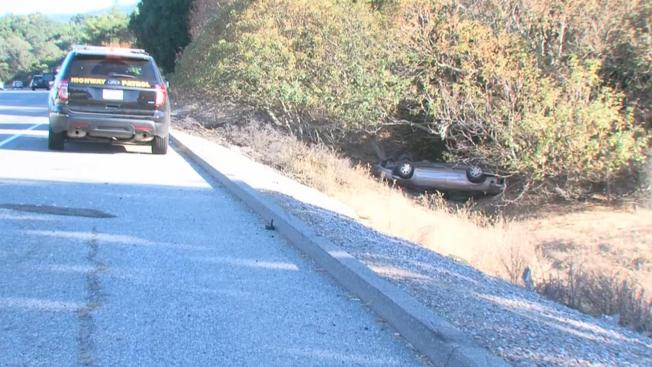 Man Dies in Rollover Crash on Interstate 280 in Los Altos