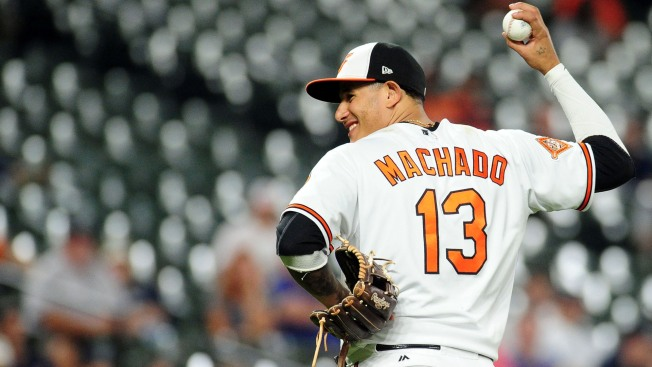 Orioles star Machado could move _ new position, or new team