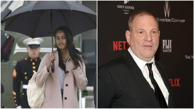 Malia Obama Lands Internship with Hollywood Producer Harvey Weinstein: Report