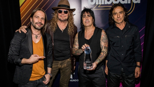 Mexican Rock Band Mana Is Latin Grammys' Person of the Year