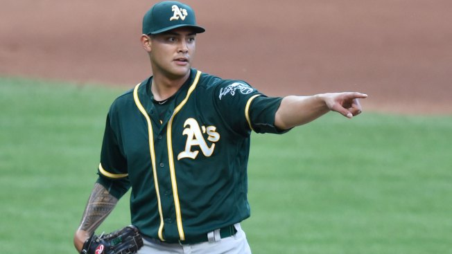 Athletics' Manaea Watching Five-time All-Star Closely to Up His Own Game