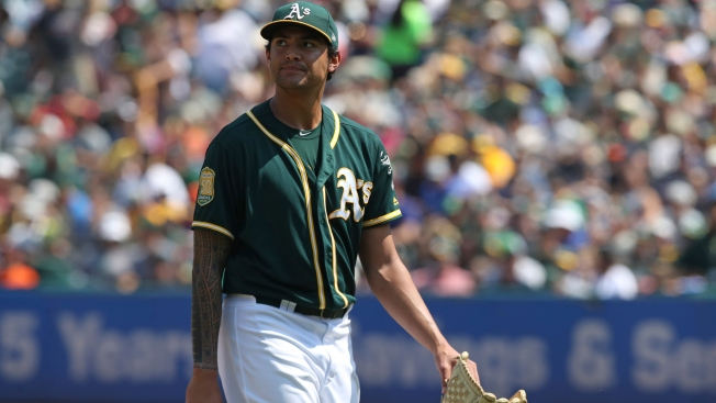 A's Announce Sean Manaea Will Start in AL Wild Card Game Against Rays