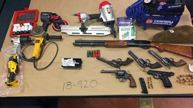 Deputies Recover 6 Guns, Arrest Suspect in Marin County