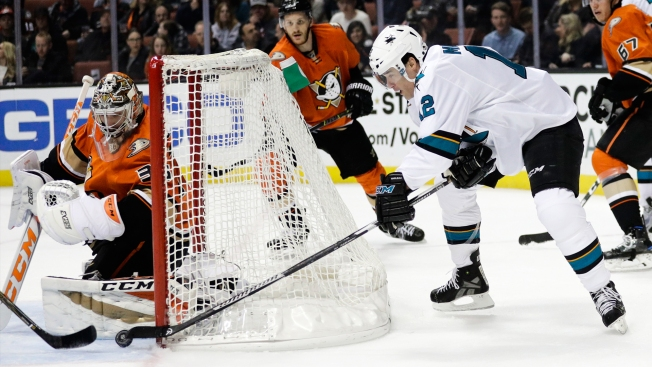 Searching for a Spark, Sharks Mix Up Their Power Play Units Vs Ducks