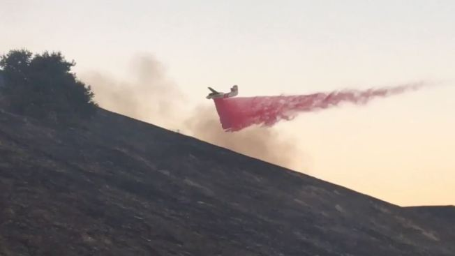 Brush Fire in Martinez Spreads Quickly, Approaches Homes