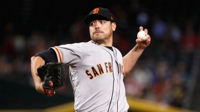 Rangers reportedly acquire rotation help in Matt Moore via trade with Giants