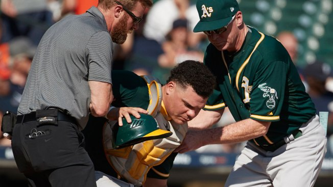 Bob Melvin Provides Update on Bruce Maxwell After 'pretty Good Shot' to Face