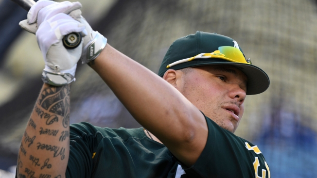Oakland A's Catcher Pleads Guilty to Disorderly Conduct