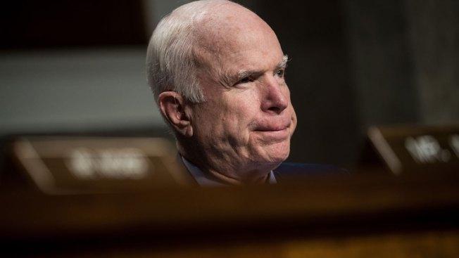 McCain Slams 'Bone Spur' Vietnam Deferments in Veiled Swipe at Trump