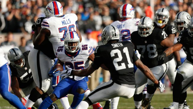 Notes: In-game Adjustments Help Raiders Slow Bills Run Game Late