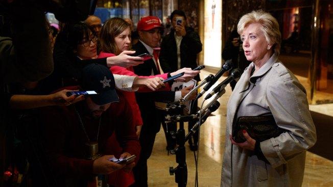 Trump Picks WWE's Linda McMahon to Head Small Business Administration