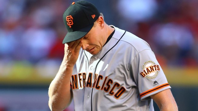 Giants Place Closer Mark Melancon on DL With Right Forearm Strain