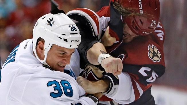 Canucks send Jannik Hansen to Sharks for Nikolay Goldobin, pick