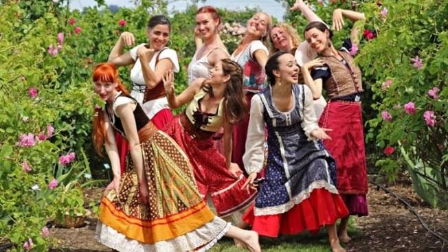 Healdsburg Happy: Dance Romp in the Roses