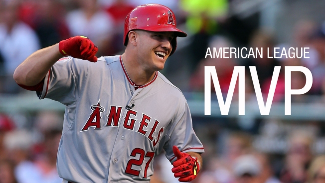 Baseball roundup: Angels' Trout, Cubs' Bryant win MVPs