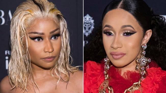 Minaj Calls Dustup With Cardi B 'Mortifying,' 'Humiliating'