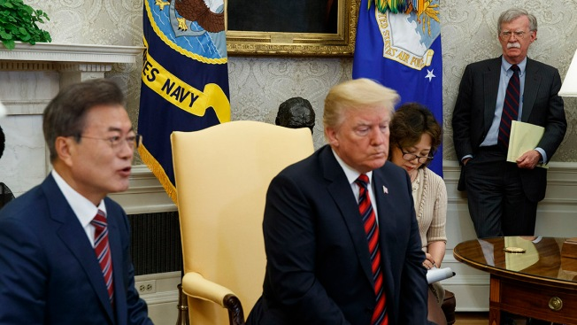 US, S. Korea Suspend Upcoming Military Drills Amid Talks With Kim