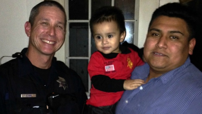 Mountain View Officer Saves Choking Toddler's Life