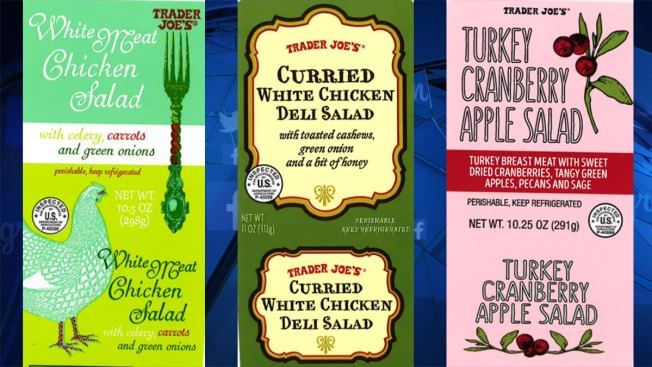 Trader Joe's recalls salads after reports of glass, plastic inside packages