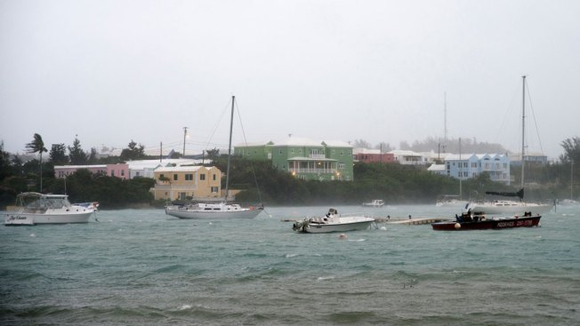 Hurricane Nicole brings floods and power cuts to Bermuda