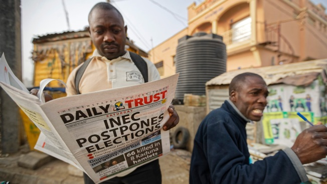 Nigeria's Candidates Blame Each Other in Surprise Vote Delay