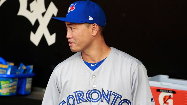 Blue Jays designate OF Aoki for assignment