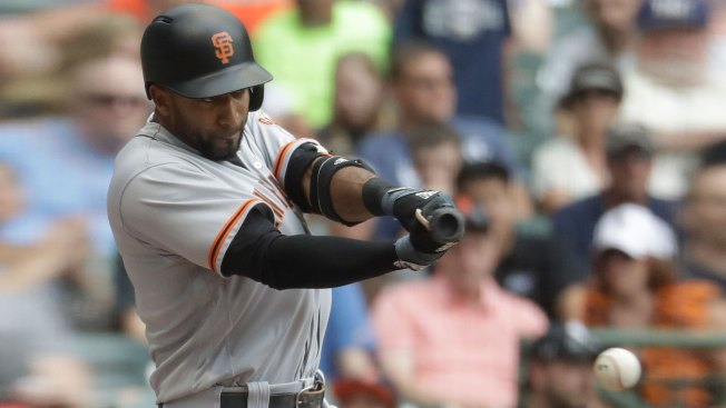Giants Blow Lead, Beat Brewers in Extra Innings