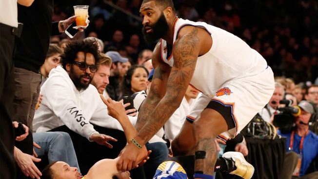 Warriors interested in Knicks' Kyle O'Quinn