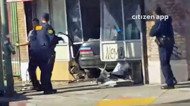 Robbery Suspects Arrested After Crashing Into Oakland Pot Dispensary