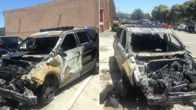 Oakland Police Release Photos of Burned SUVs